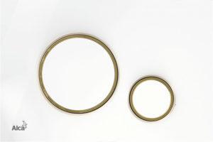Betätigungsplatte-weis-gold