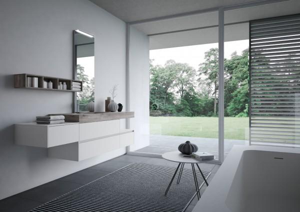 NYÙ Ideagroup Badezimmereinrichtung_Badmöbel Set - moderne Badezimmermöbel.