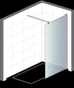 Seitenwand-Dusche