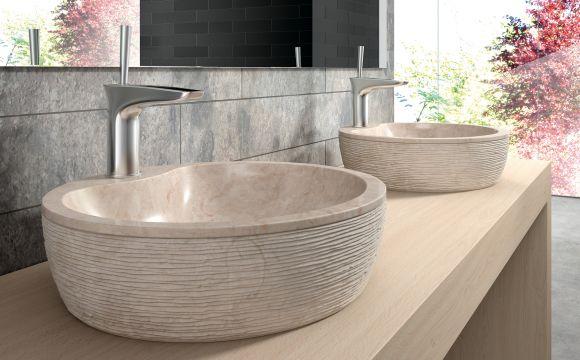 aufsatzwaschbecken aus naturstein