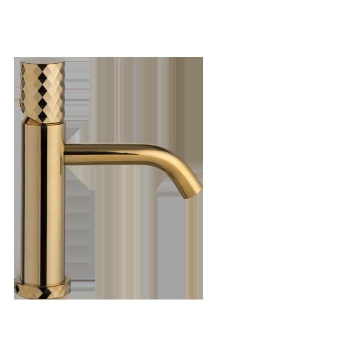 Waschtischarmatur-Carlo Frattini Gold_Exklusive Armaturen für Luxus Bäder und Baddesign
